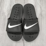 NIKE CIABATTA KAWA SHOWER 832528 001 NERO