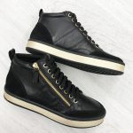 GEOX SNEAKERS MID DONNA NERO
